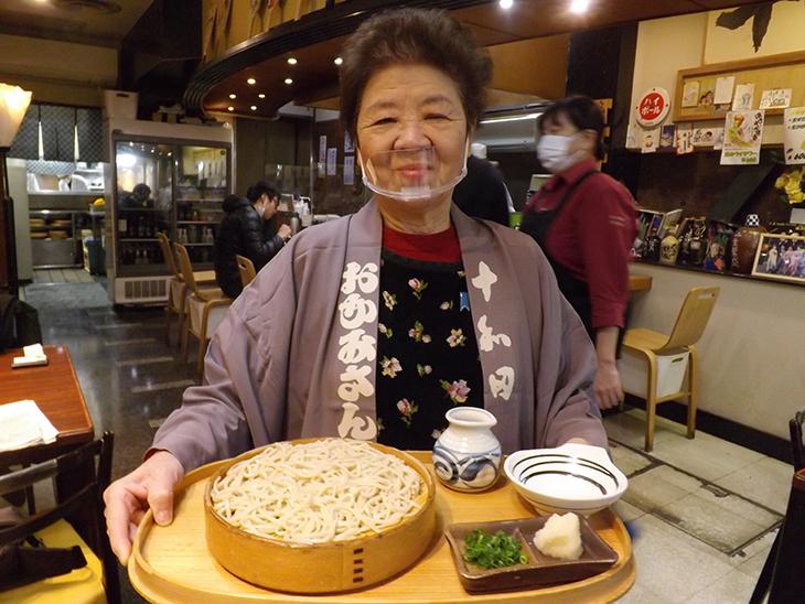 十和田蕎麦屋 女将 冨永さん
