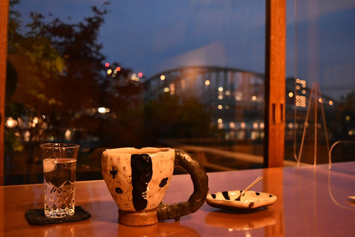 ルーサイトギャラリー&カフェ/橋-夜