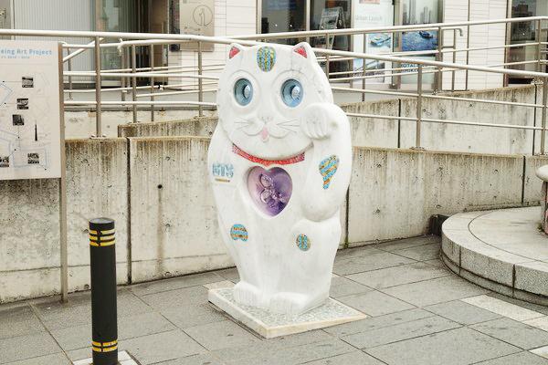 GTS観光アートプロジェクト03そらちゃん(台東区:吾妻橋西詰)