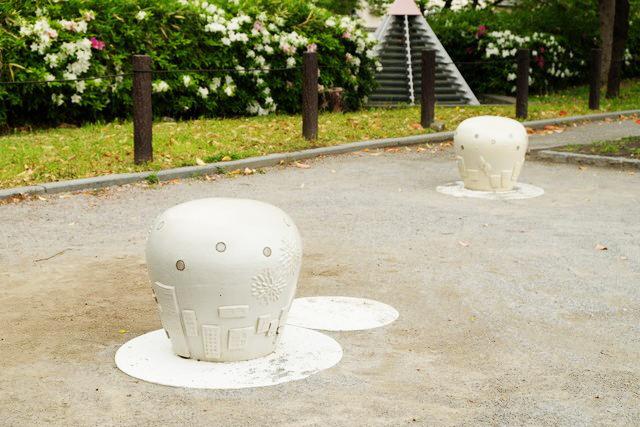 GTS観光アートプロジェクト04灯り空(台東区:隅田公園)