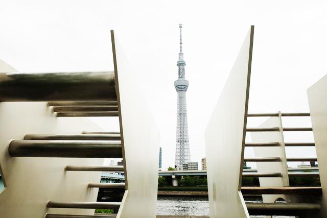GTS観光アートプロジェクト13LOOK(台東区:隅田公園)