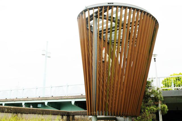 GTS観光アートプロジェクト14スカイネスト(台東区:隅田公園)