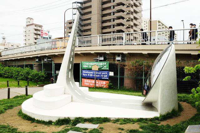GTS観光アートプロジェクト21Reflectscape(墨田区:大横川親水公園)
