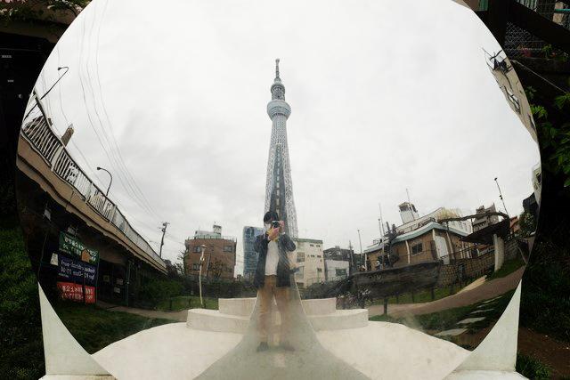 GTS観光アートプロジェクト22Reflectscape(墨田区:大横川親水公園)