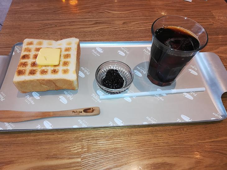 蔵前「ペリカンカフェ」食パン&コーヒー
