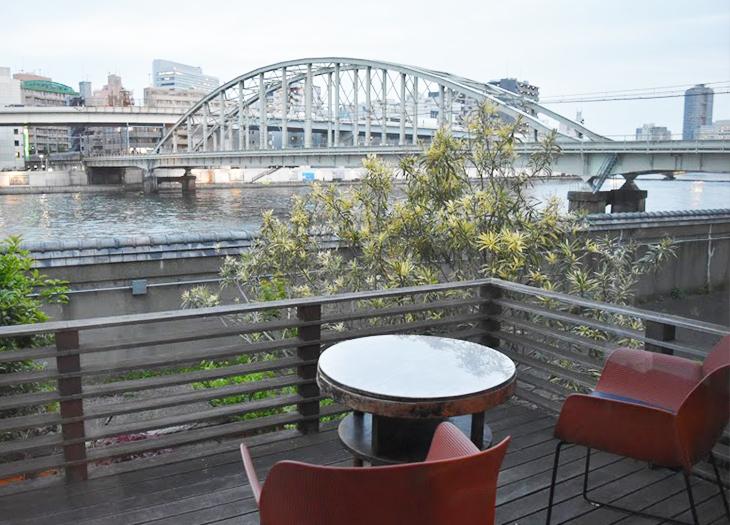 ルーサイトギャラリー&カフェ/テラス席