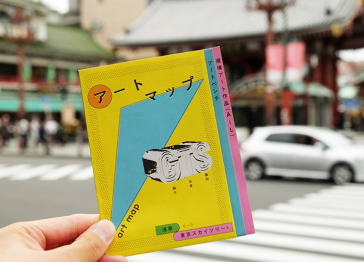 GTSアートマップで浅草からスカイツリーを街歩き!写真撮りながら実際に歩いてみた