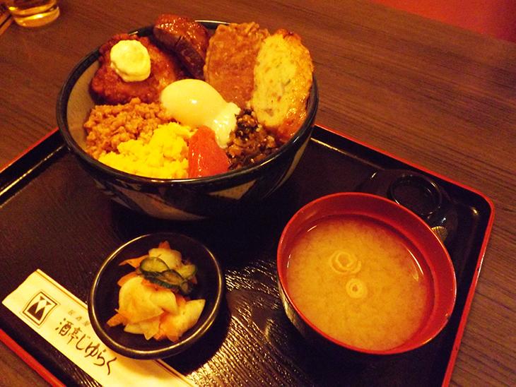 上野・アメ横の酒亭じゅらく:西郷丼