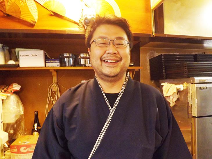 上野・アメ横の酒亭じゅらく:店長
