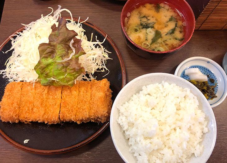 とんかつ藤芳:ヒレカツ定食