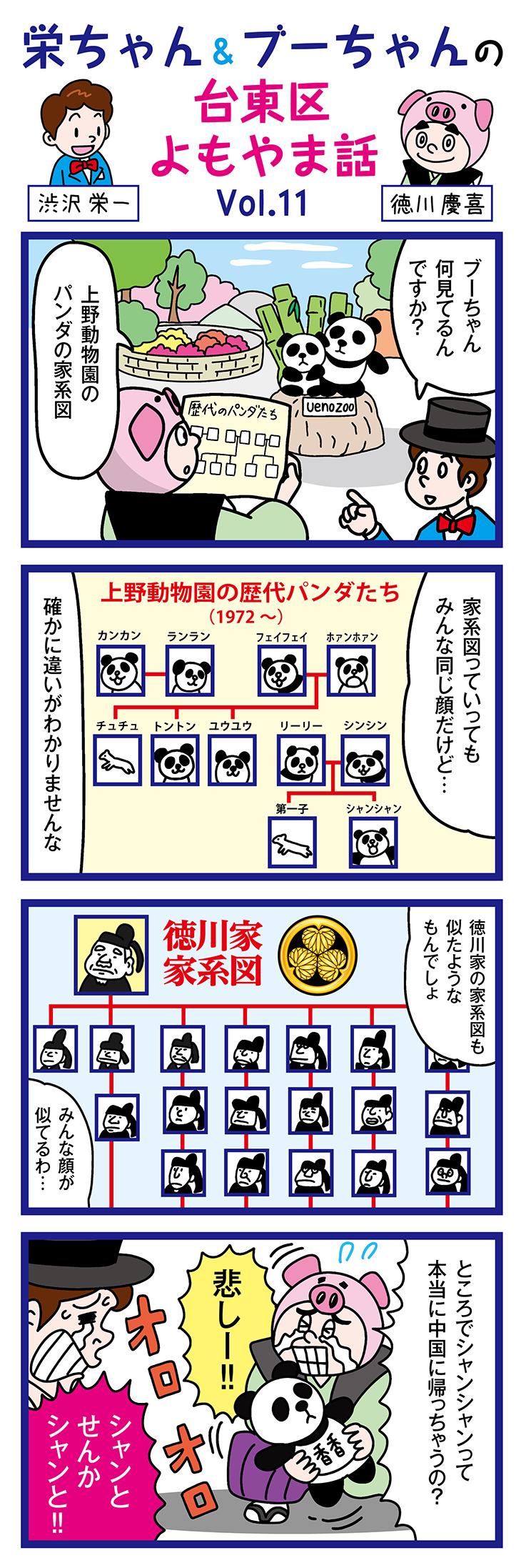 上野動物園とパンダのお話