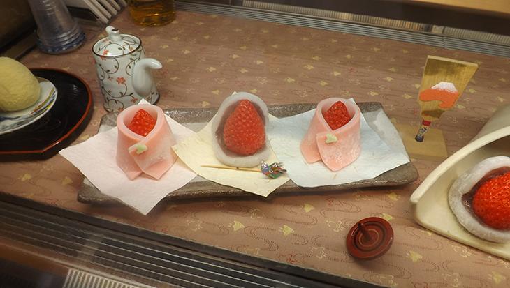 苺と和菓子の大福苺