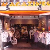 上野・御徒町にある人気の古着ショップMAGAZINES。ビンテージから古着まで、約2万3千着がお店で販売